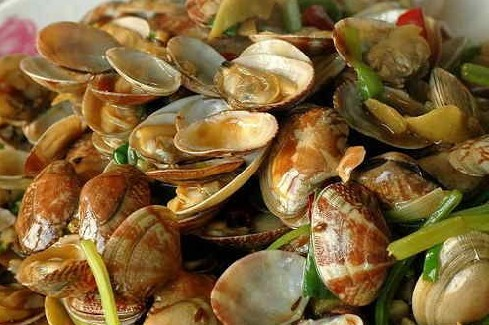 seafood of Qingdao